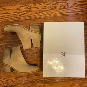 BP Leather Booties